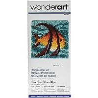 WonderArt - Juego de Ganchos para Cerrojo, pez ángel, Angel Fish 12 X 12, Angel Fish 12 x 12, 1