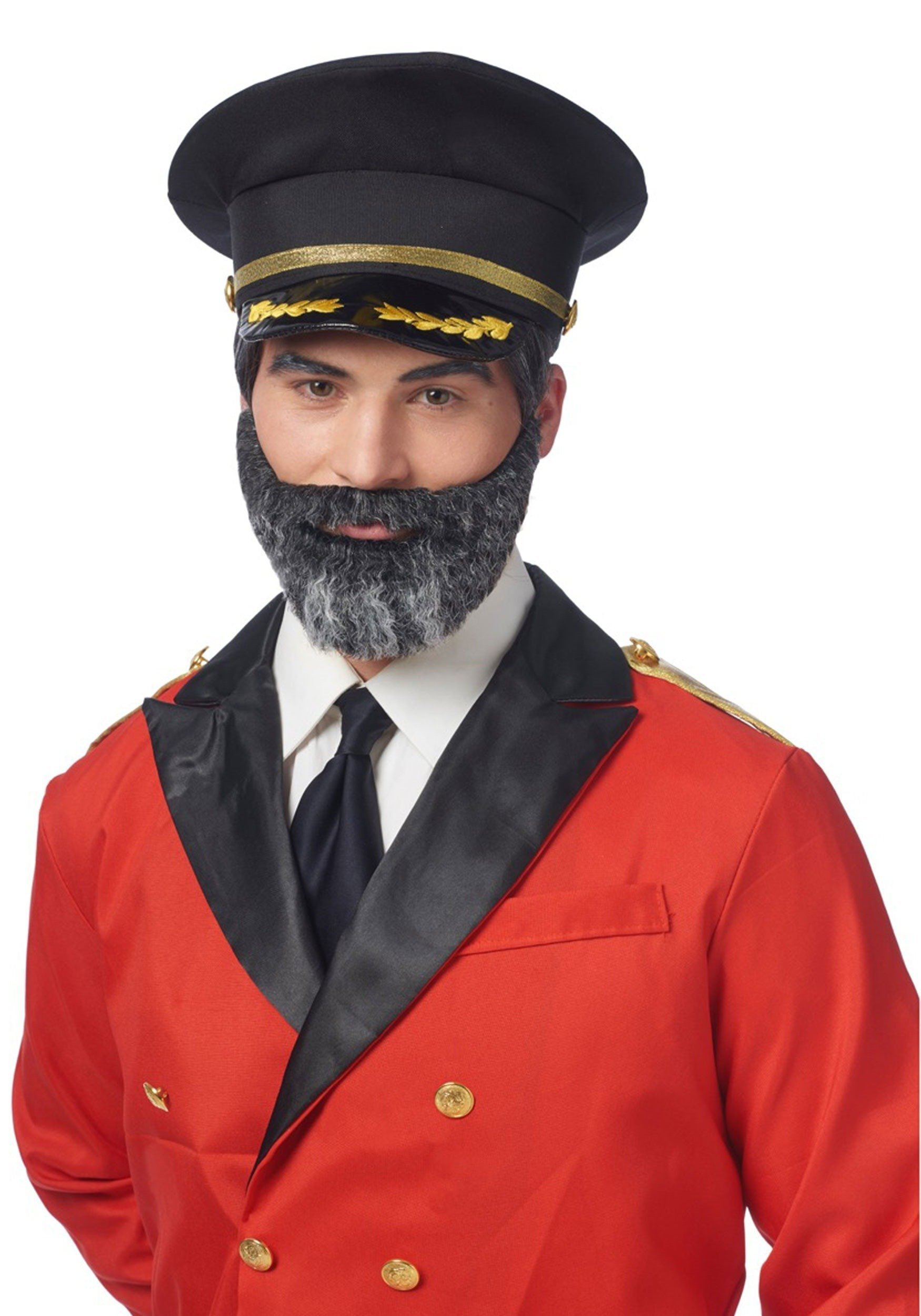 Mustache and Beard Captain Obvious - ST