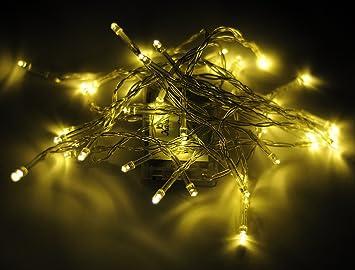 Amazon.com: Karlling Battery Operated Warm White 40 LED Fairy ...