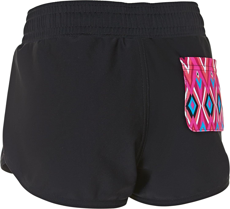 Zoggs Girls Crazy Retro Swim Shorts