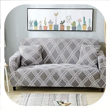 Amazon.com: New face Protector Sofa Cover Spandex Slipcover ...