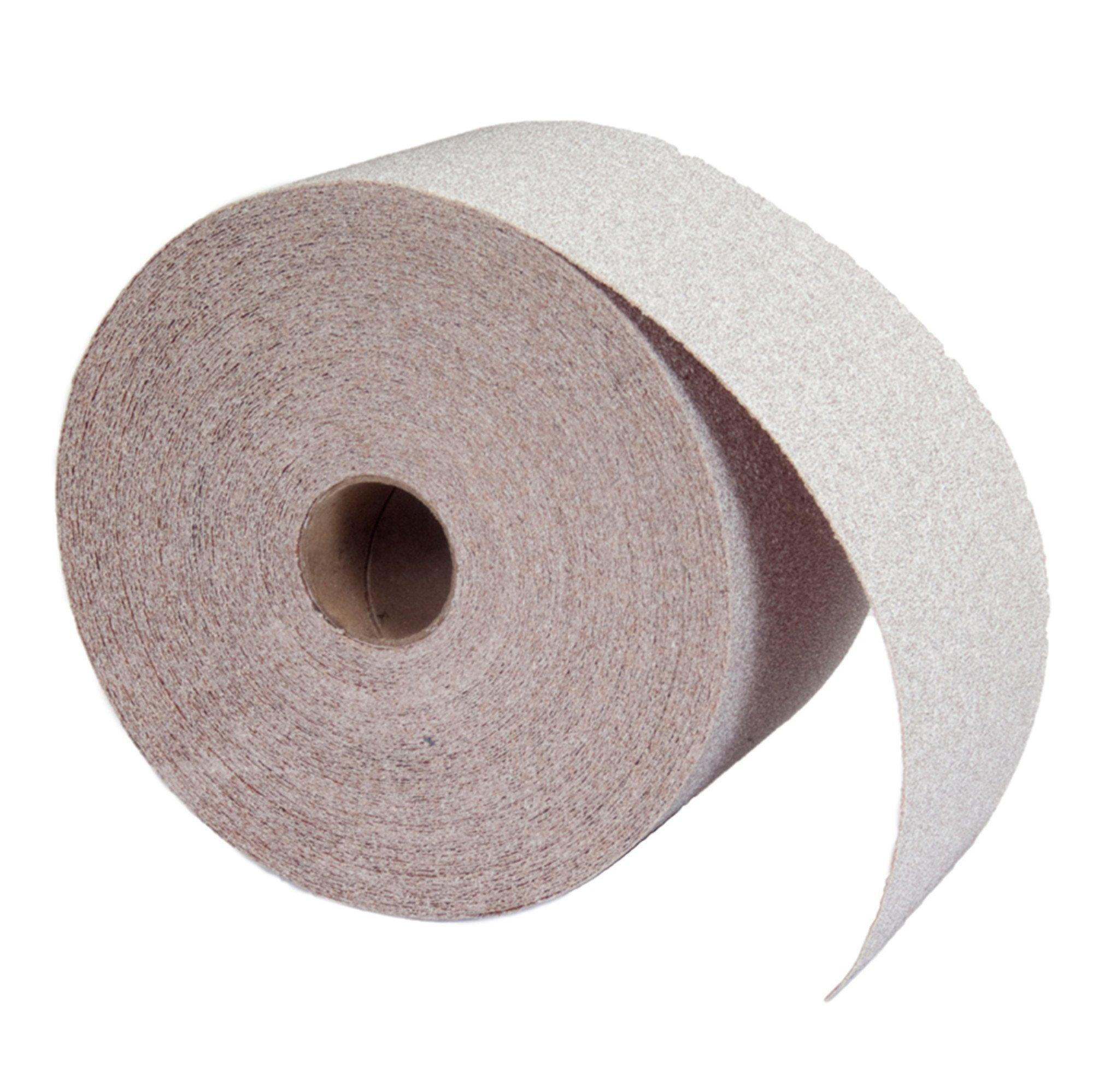 Norton A275 No-Fil Adalox Abrasive Roll, Paper Backing, Pressure Sensitive Adhesive, Aluminum Oxide, Waterproof, Roll 2-3/4'' Width x 45yd Length, Grit 600 (Pack of 1)