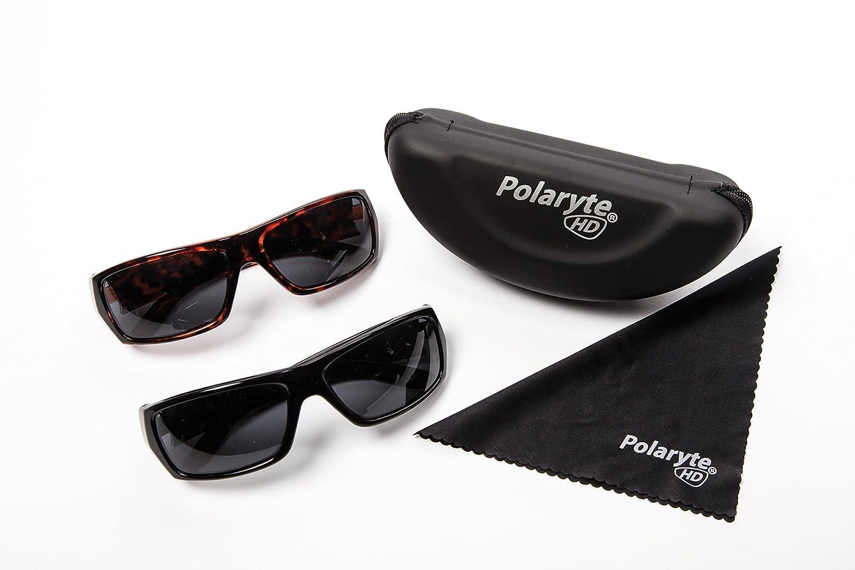 Industex Polaryte HD – Juego de 2 pares de gafas de sol polarizadas, UVA UVB UV400.