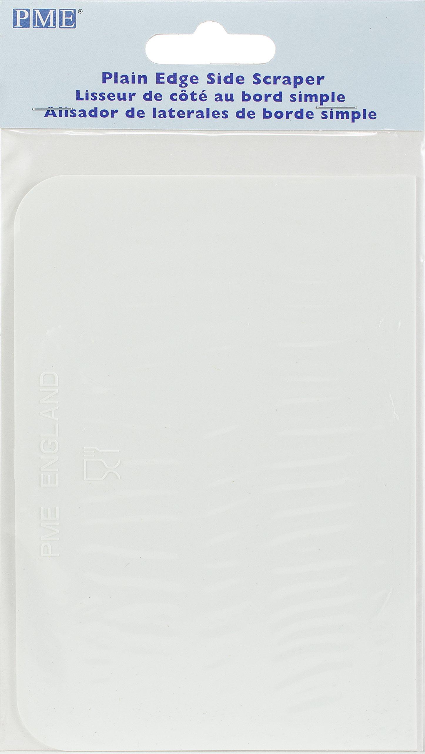 PME PS40 Plain Edge Side Scraper White