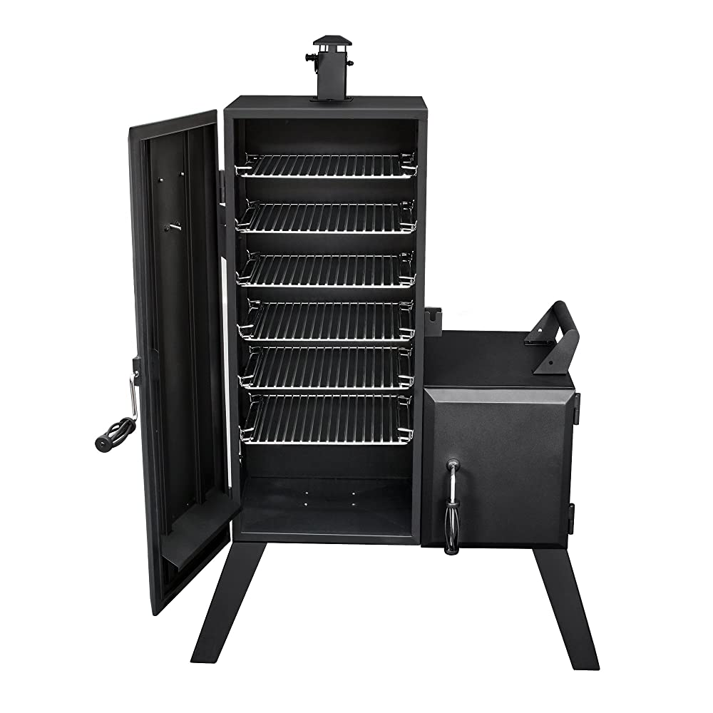 Dyna-Glo-DGO1176BDC-D-Charcoal-Offset-Smoker
