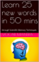 Learn 25 new words in 50 mins: through Scientific Memory Techniques (Vocab75 Book 1) (English Edition)