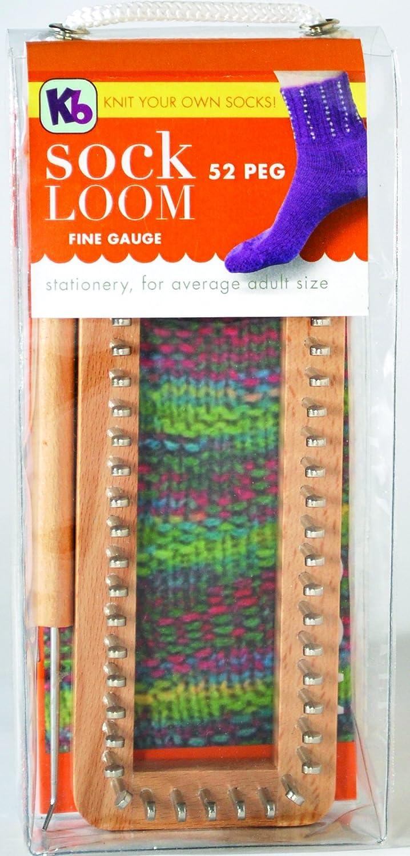 """Sock Loom 52 Peg 7/""""X3/"""" KB4420 Knitting Board"""