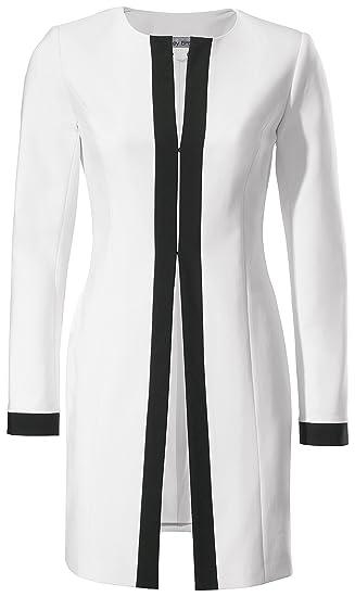 Veste tailleur blanche h&m