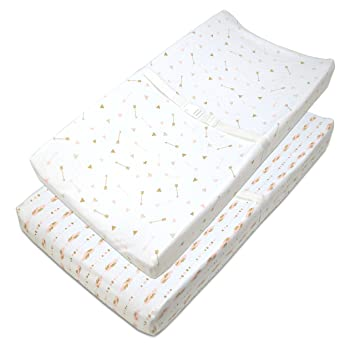 Amazoncom American Baby Company Piece Printed Cotton Jersey - American table pad company