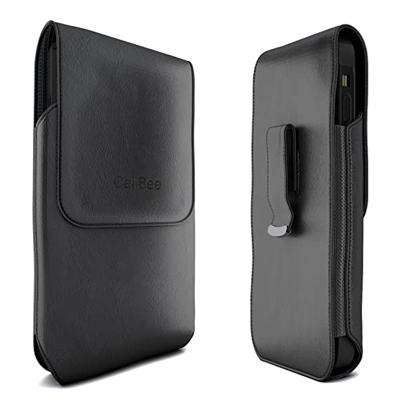 competitive price df11c 723d0 Amazon.com: iPhone 7 Plus Holster, CellBee Premium Leather Pouch ...