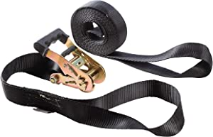 """AUGO Heavy Duty Ratchet Strap with Loop Ends 2pk 