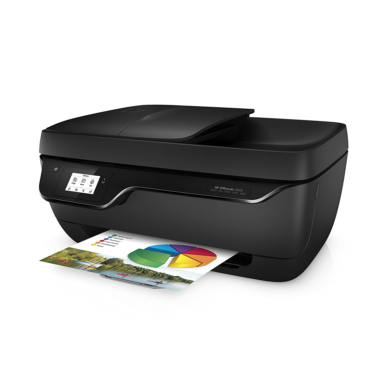 HP OfficeJet 3830 AIO - Impresora multifunción de tinta (Thermal ...