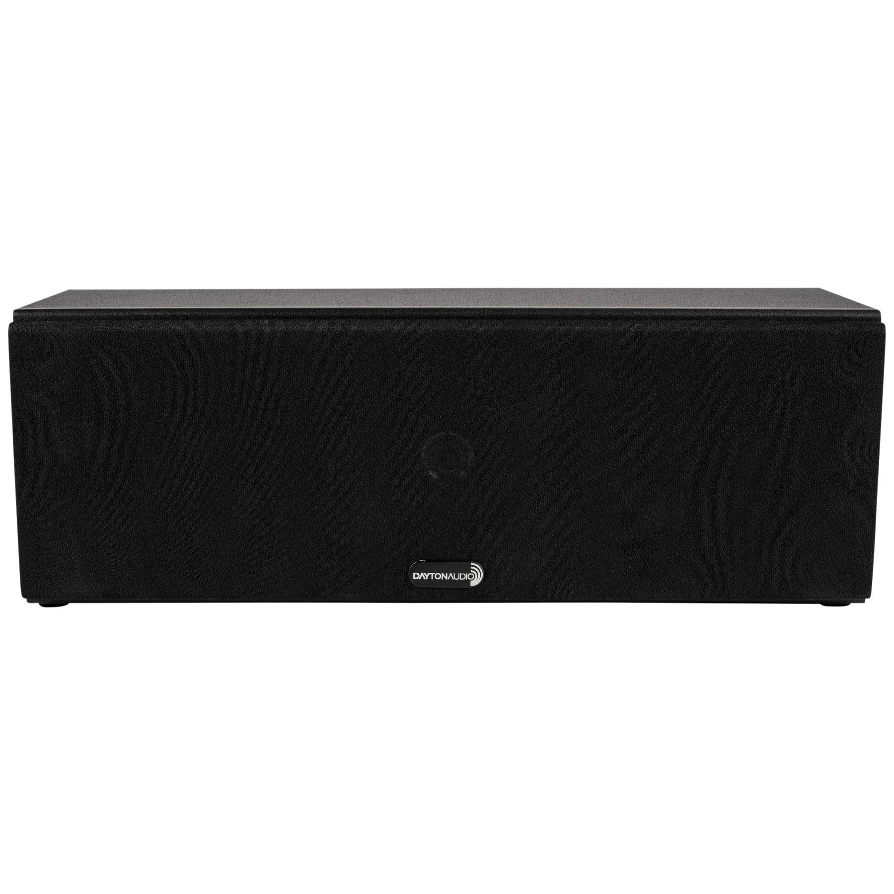 Dayton Audio C452 Dual 4-1/2'' 2-Way Center Channel Speaker (Black) by Dayton Audio
