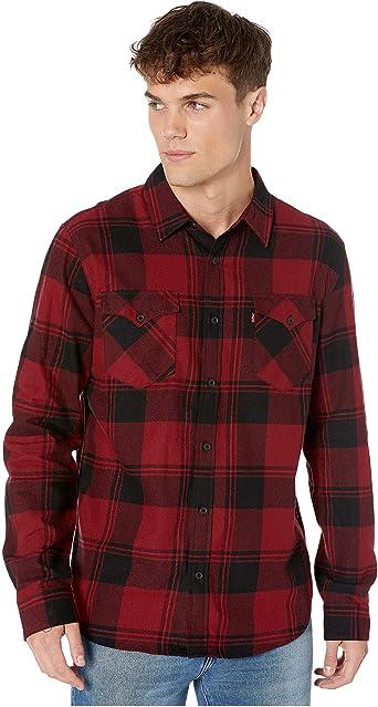 Levis Manta - Camisa de franela - Morado - XX-Large: Amazon.es: Ropa y accesorios