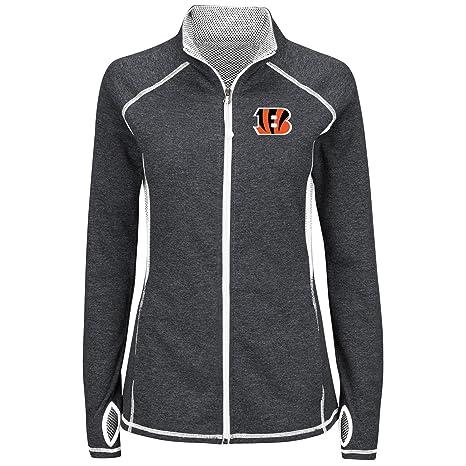 Cincinnati Bengals Majestic Club Pass Women s Reflective Jacket ... 22bc24c2d9