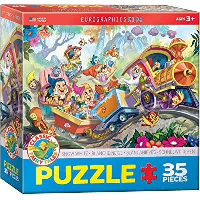 EuroGraphics 35-Piece Classicic Fairy Tales Snow White Puzzle: Toys & Games