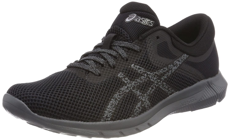 Asics Nitrofuze 2, Zapatillas de Entrenamiento para Mujer 44 EU|Gris (Carbonblackcarbon 9790)