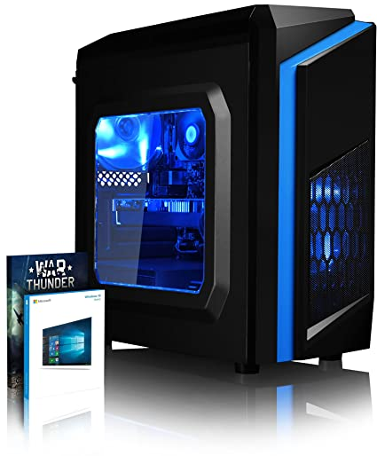 Vibox Mercury 4 Gaming PC Ordenador de sobremesa con 2 Juegos Gratis, Windows 10 OS (4,0GHz AMD Ryzen Quad-Core Procesador, Nvidia GeForce GTX 1660 ...