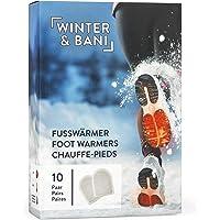Winter & Bani Warmtepads 10 x 2 stuks – 8 uur warme voeten – extra dunne voetenwarmers pads – natuurlijk puur – direct…