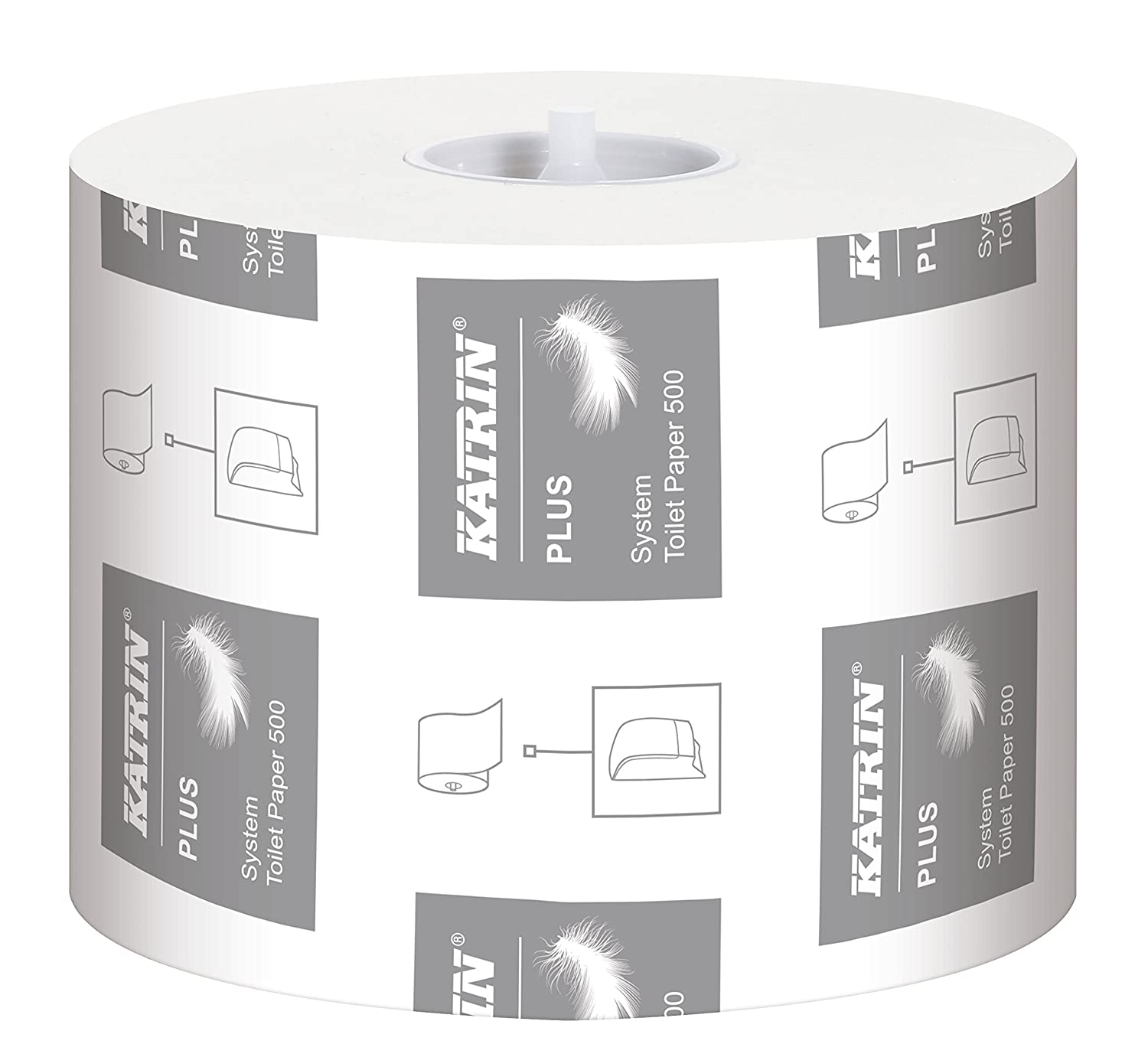 Lucart Professional 811597 Toilet Paper Rolls Eco 400 Pack of 30