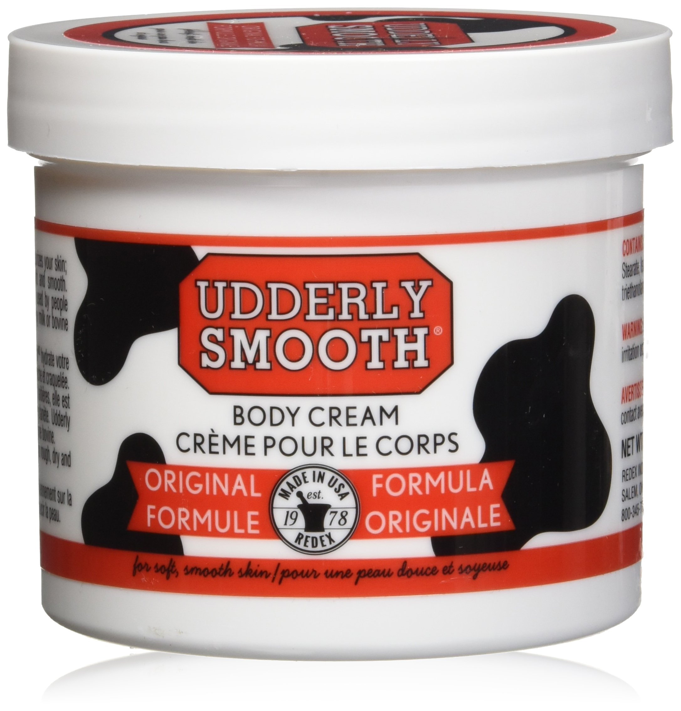 Udderly Smooth Body Cream 12 oz (Pack of 6) by Udderly Smooth