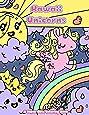 Kawaii Unicorns: A Super Cute Coloring Book (Kawaii, Manga and Anime Coloring Books for Adults, Teens and Tweens) (Volume 2)