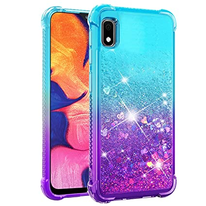 Dzxouui for Galaxy A10E Case,Samsung Galaxy A10E Case,TPU Protective Cover for Girls and Women Glitter Bling Sparkle Cute Phone Case for Samsung ...