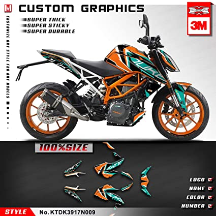 Amazon com: Kungfu Graphics Custom Decal Kit for 2017 2018