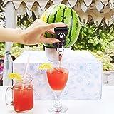 Melonen Zapfhahn Das Partyhighlight Zapfen Sie Ihr Getränk Direkt aus der Frucht Perfekt Zum Stilvollen Servieren von Bowle Cocktails und Andere fruchtigen Mixgetränken