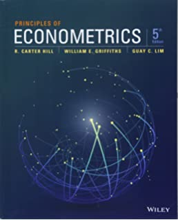 using eviews for principles of econometrics 4th edition free download