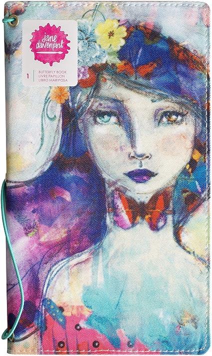Stencil Washi Scrapbook Art Crafts Jane Davenport Mixed Media Butterfly Effect