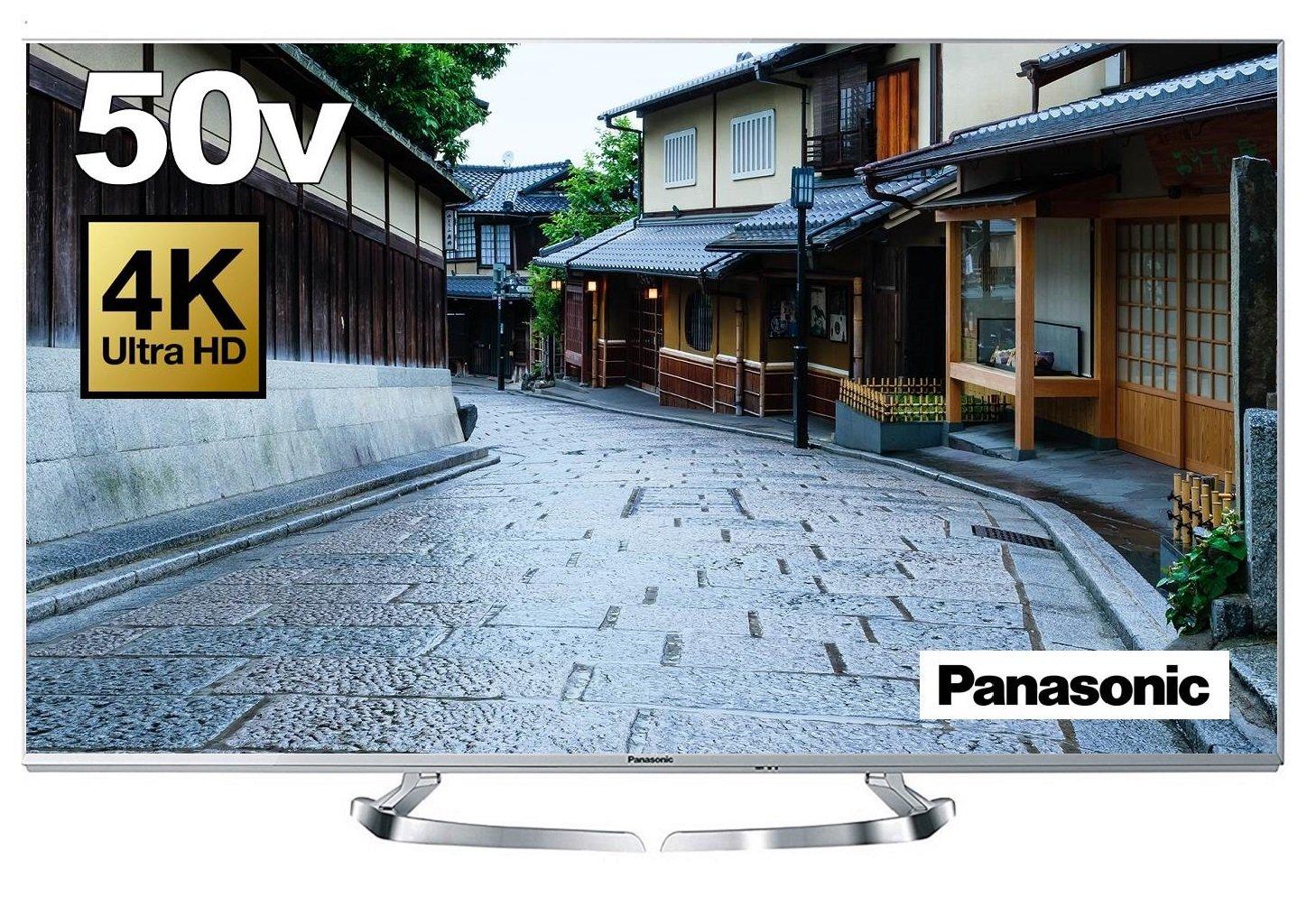 パナソニック 50V型 液晶テレビ ビエラ TH-50DX770 4K   2016年モデル B01DXKCMYU  50V型