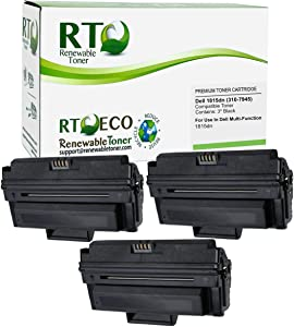 Renewable Toner Compatible Toner Cartridge Replacement for Dell 1815dn 310-7945 Multi-Function 1815 (3-Pack)