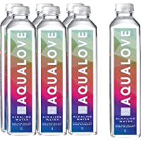 Aqualove Water 9-10pH Alkaline Water, 6 x 1000 ml