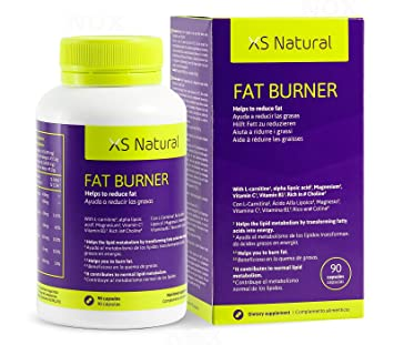 XS NATURAL FAT BURNER Fat burning weight loss supplement