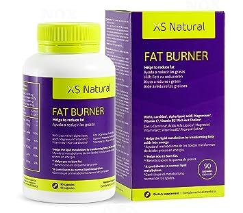 XS NATURAL FAT BURNER Fat burning weight loss supplement