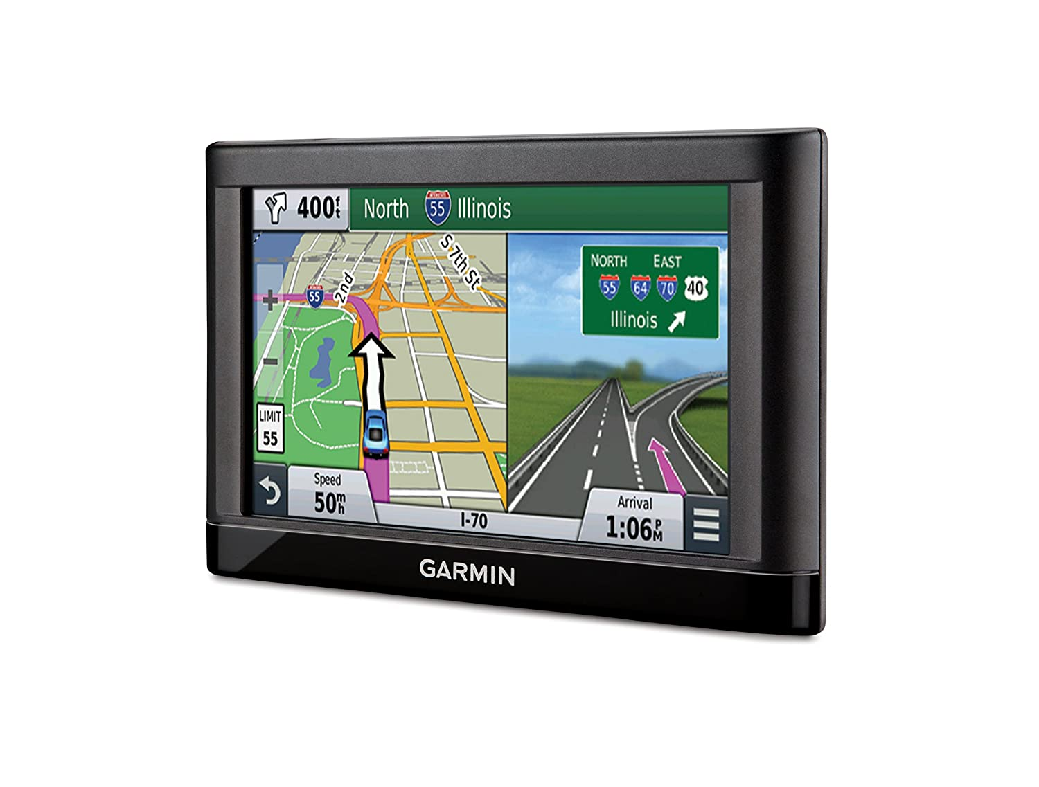 Amazoncom Garmin Nüvi LMT GPS Navigators System With Spoken - Us highway map with speed limits