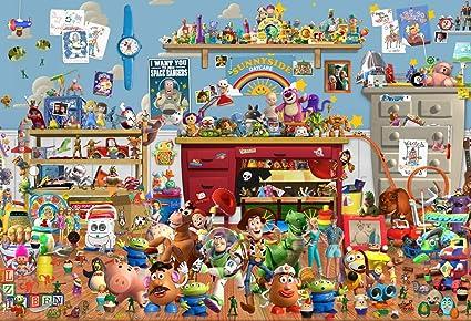 Eric, fondo de fiesta de Toy Story de 7 x 5 pies, con diseño ...