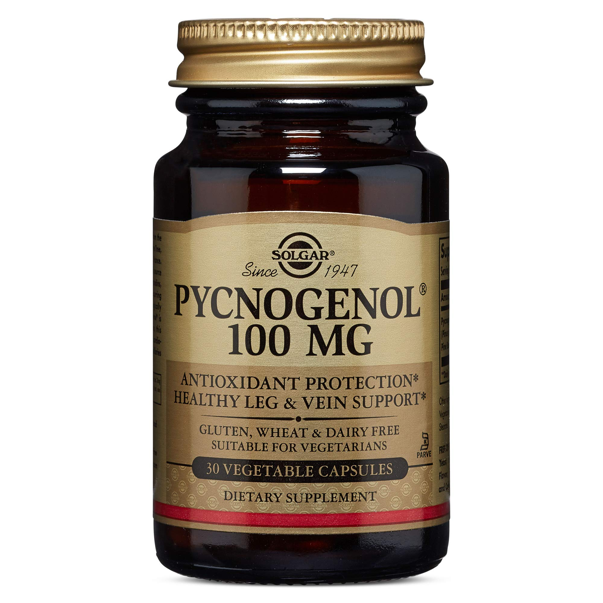 Solgar - Pycnogenol 100 mg, 30 Vegetable Capsules by Solgar