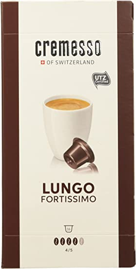 Cremesso Lungo Fortissimo - Café Negro, Marrón: Amazon.es: Hogar