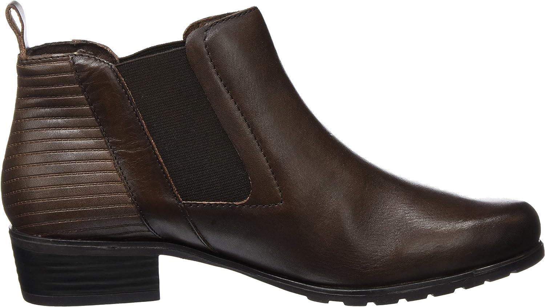 CAPRICE Damen 25322 Chelsea Boots Braun Dk Brown 335