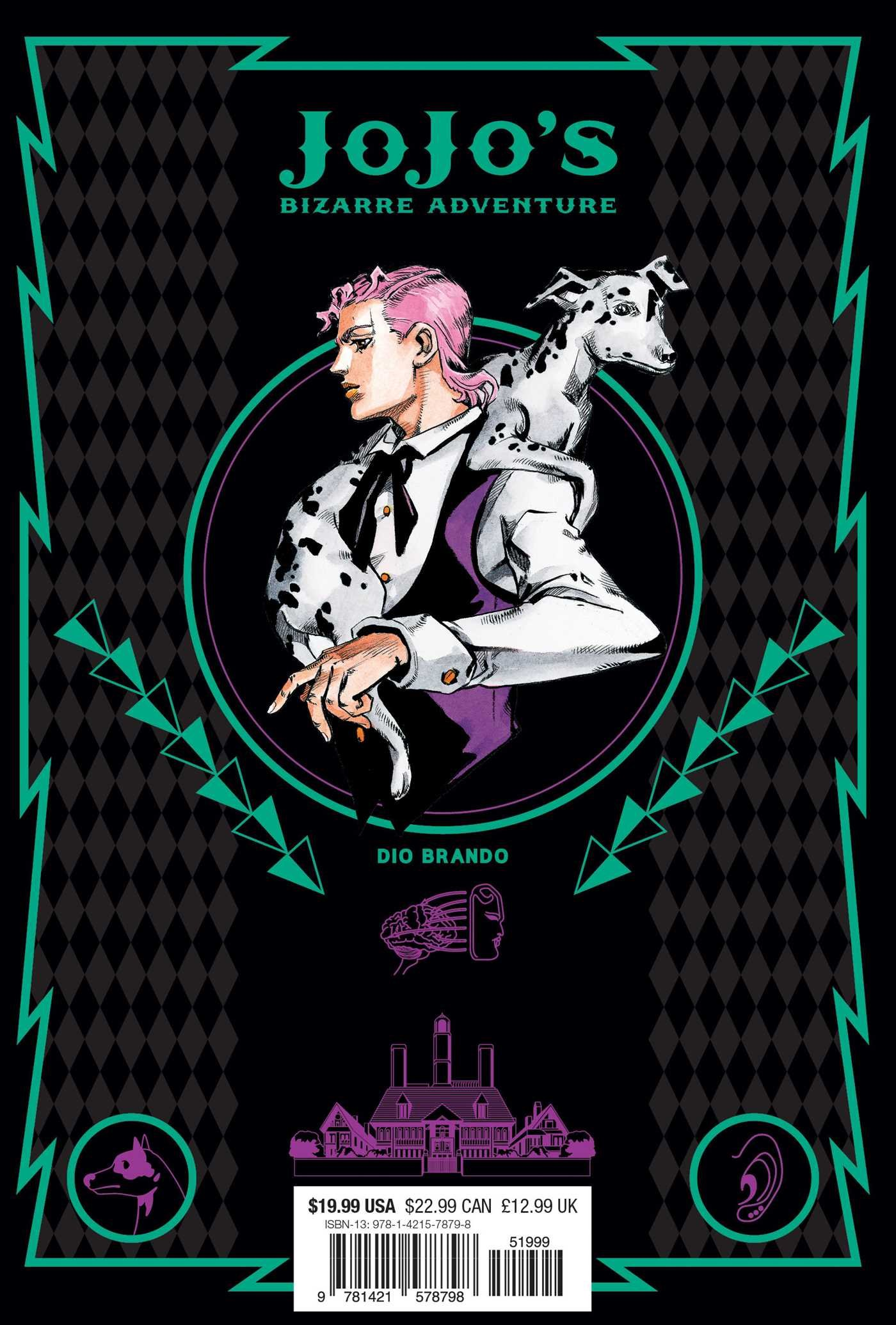 JoJo's Bizarre Adventure: Part 1--Phantom Blood, Vol  1 (1