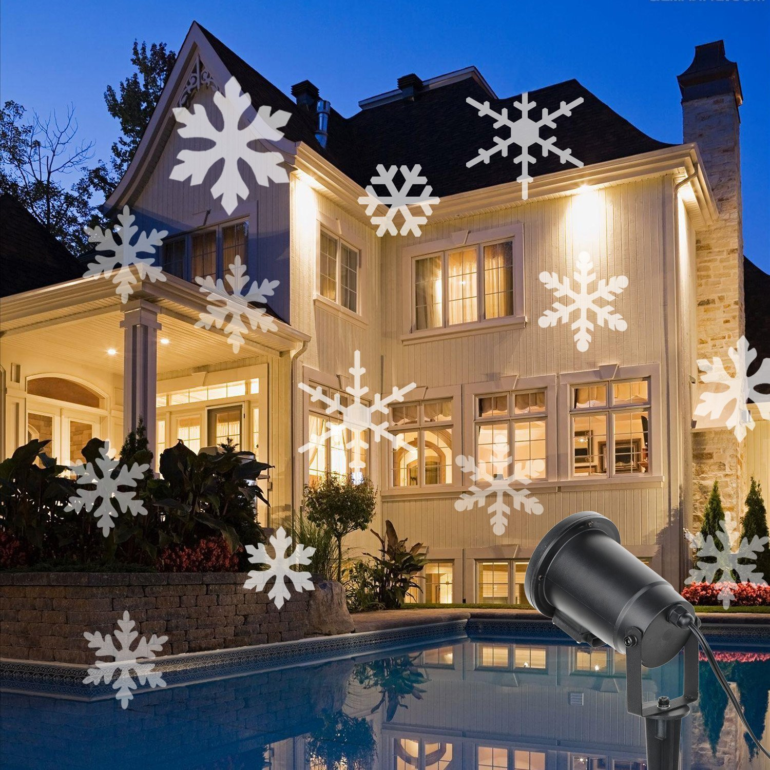 mid projection lights led kaleidoscope cool lighting century modern redesigns christmas your