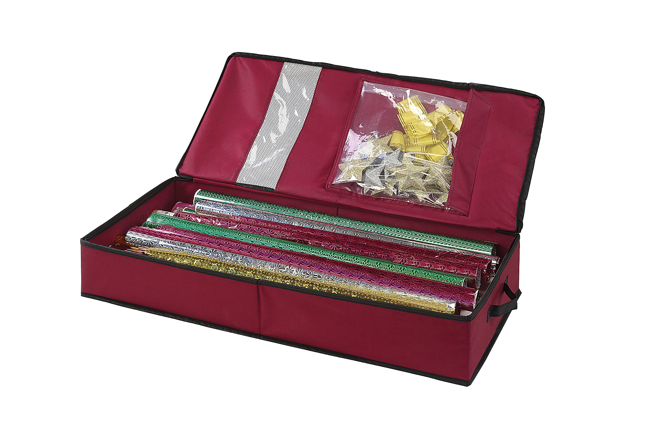 Organize It All Holiday Gift Wrap Organizer
