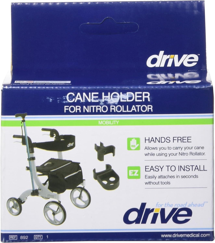 Amazon.com: Drive Medical Nitro – Andador de caña holder ...