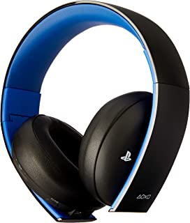 Sony - Auriculares Inalámbricos Stereo, Color Negro (PS4, PS3, PS Vita)