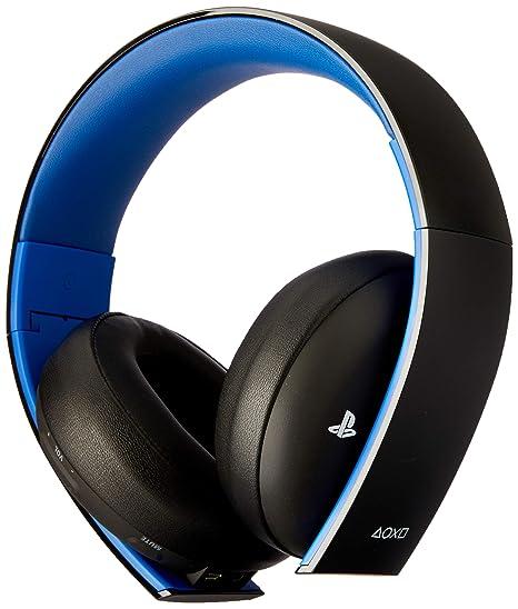 8bb651e1702f6c Sony - Cuffie wireless stereo con microfono 2.0 per PS4/PS3/PS Vita, Nero:  playstation vita: Amazon.it: Videogiochi