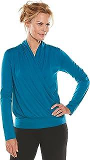 f1b21fe9ba1ed7 Coolibar UPF 50+ Women s Chillon Blouse - Sun Protective (X-Large ...