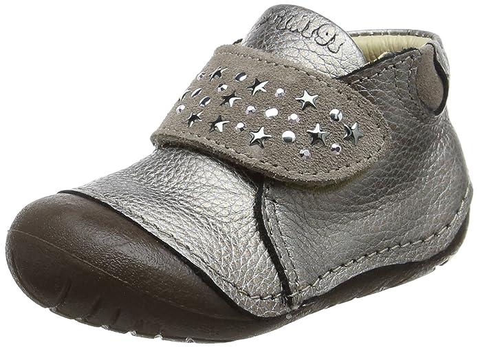 SB158 Studio BIMBI Dolly Shoe w/Studding Detail Smart for Girls in Black Tamaño 20 OQKv4ST