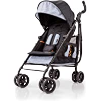 Summer 3Dtote Convenience Stroller – Lightweight Stroller with Extra Storage Basket, Rear Storage Extension, Diaper Hooks, Cup Holders and More - Compact Fold for Storage and On-the-Go